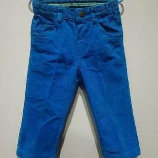 H&M Blue Corduroy Pants (9-12 months)