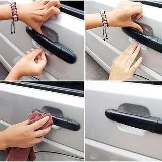 Clear Car Door Handle Protective Film(4 pcs)