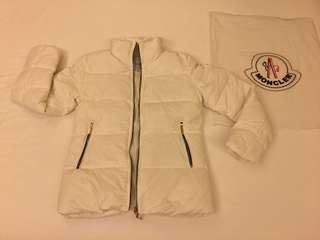 Moncler Women Down Jacket Ivory