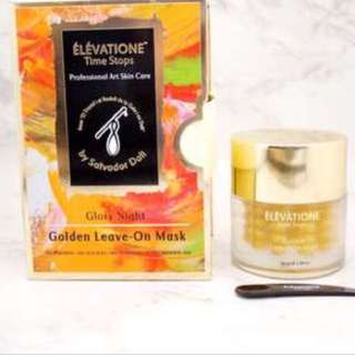 Elevatione time stopsglory night golden leaven on mask skin