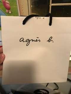 Agnes.b紙袋