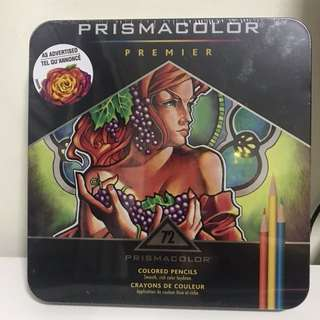 BN Sealed Prismacolor 72pack Premier color pencils