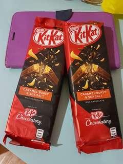 KITKAT Aussie Chocolatory Sea salt Caramel