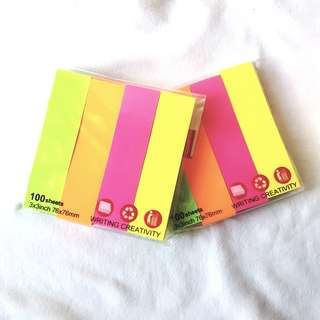 🍳 post it notepad strip
