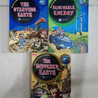 Environment Comic Series (dpt 3buku)