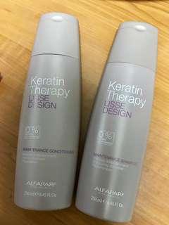 Keratin Shampoo & Conditioner