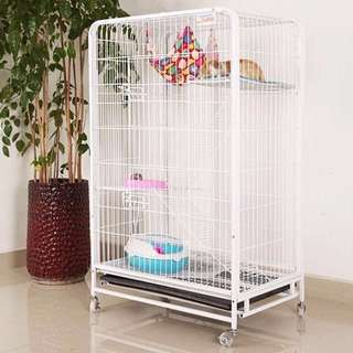 Pet Cage Three Tiers / Cat Condo - Brand New In Box!  (Pink Colour Out Of Stock)