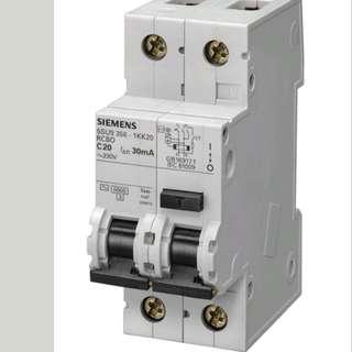 Siemens RCCB 30A