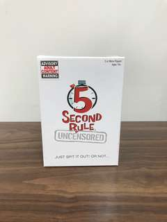 5 seconds (uncensored)