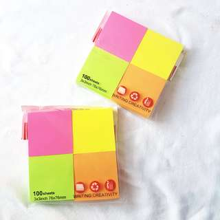 🍳 post it notepad square