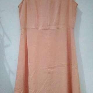 Dress Warna Peach