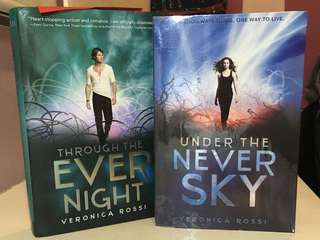 Under the Never Sky and Through the Evernight by Veronica Ross