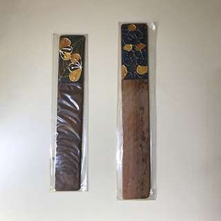 Handmade Wooden Bookmarks