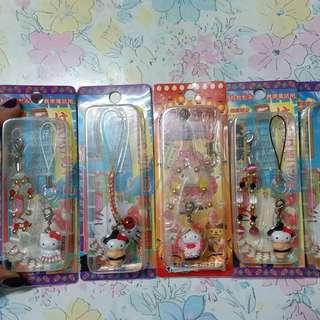 Hello Kitty 電話繩(多款選擇,每條20)