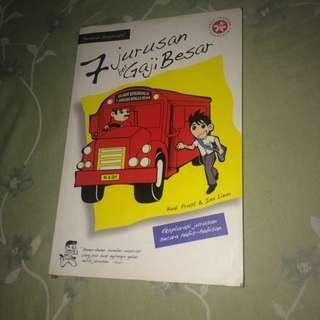 Buku 7 jurusan bergaji besar