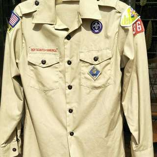 Uniform Pengakap USA ( boy scout )