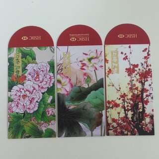 Collectible 6pcs Ang Pow - HSBC