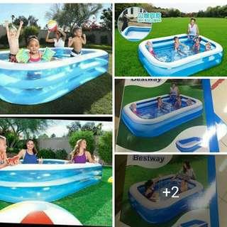 bestway swimming pool 2.01metes Php1300  2.62metes Php1700