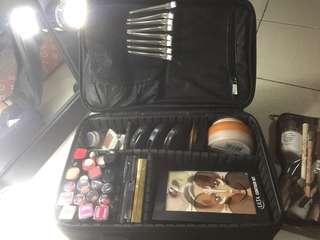Nylon makeup bag