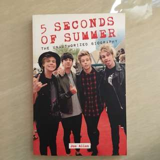 5 Seconds of Summer 5SOS Unauthorised Biography Book