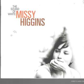 MY PRELOVED CD - MISSY HIGGIN - THE SOUND OF WHITE /FREE DELIVERY (F3T)