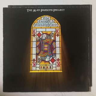 Alan Parsons projeCt original LP record