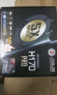 I3 7100 + Asus H170 pro Motherboard