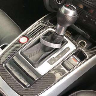 Audi Engine Start / Stop Button with Red Ring