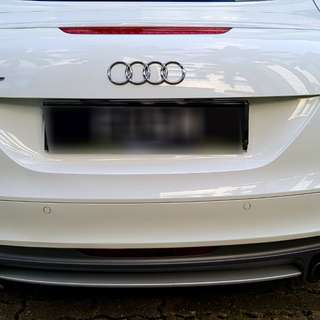 MTM catback exhaust with TTS rear bumper.