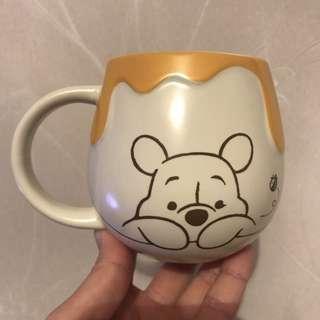 Disney Winnie the pooh小熊維尼 水杯 瓷杯