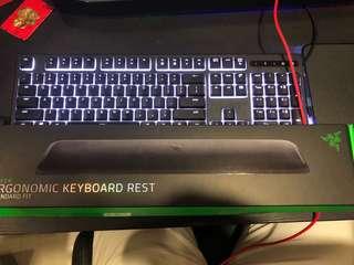 Ergonomic keyboard rest