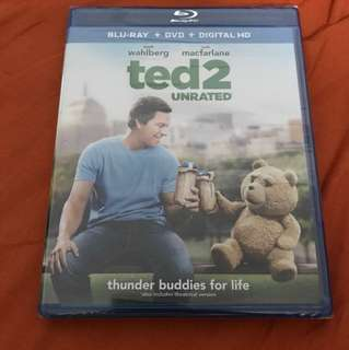 Ted 2 Unrated Blu-Ray + DVD
