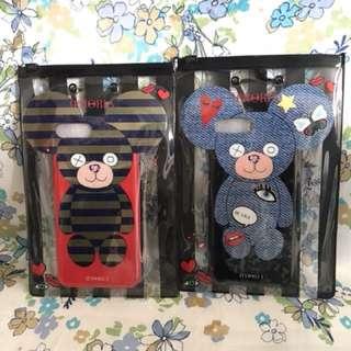 條紋熊 Iphone7plus手機殼