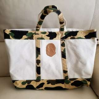 [99%新] A Bathing Ape Tote bag 側揹袋 日本