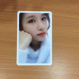 Twicetagram Mina Selfie Photocard