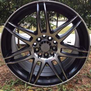 16in PCD 10H-100/114.3 Taiwan Rims On Sale