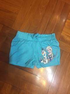 Disney Frozen Girl's Short