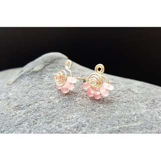 HANDMADE! Crystal Earrings 10081