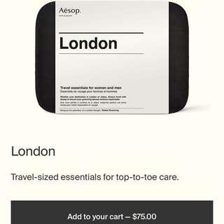 Aesop London Travel Kit + FREE GIFTS