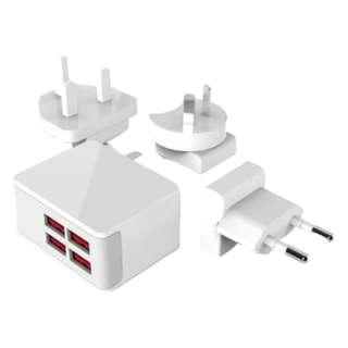 WavLink - 40W USB 四端口 智能快充旅遊插座