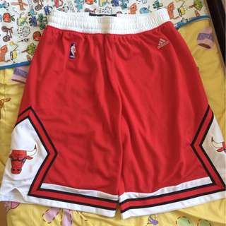 Adidas Chicago Bulls NBA Swingman Shorts 公牛波褲