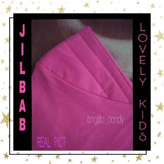 Preloved Jilbab For Lovely Kids - Pink Kode : 3 #MakinTebel