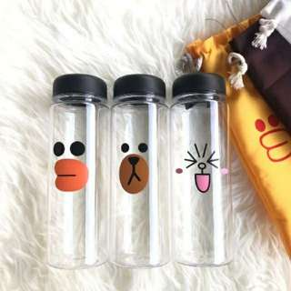 Line with Pouch Bottle