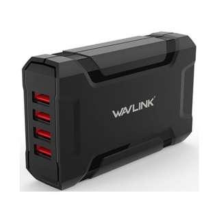 WavLink - 4端口智能USB充電器連插座