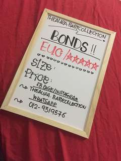 BONDS TO LETGO 💋 FOLLOW FB PAGE THEAURA.COLLECTION
