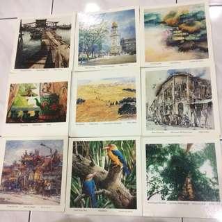 Assorted Postcards Bundles #FEB50