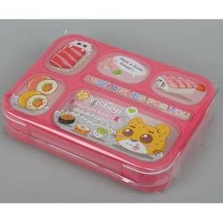 Lunch Box Kotak Makan Yooyee kotak bekal Anti Bocor 589 6 SEKAT