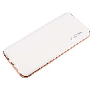 Yashica - YAS-Q10 10000mAh QC3.0 快速充電雙USB電源 - 白