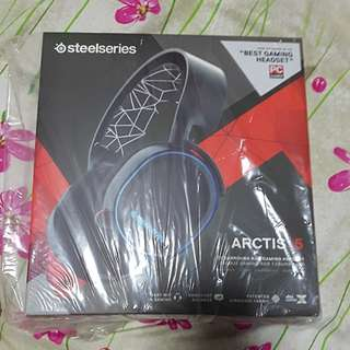 Bnib Steelseries Arctis 5 Gaming Headphones