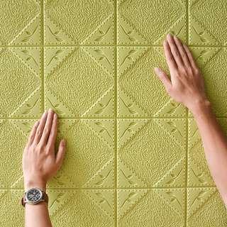 厚身自動黏貼牆貼